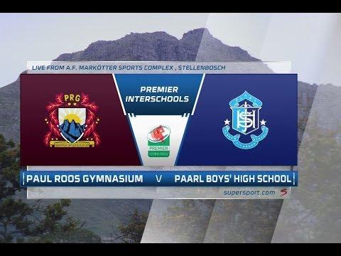 Premier Interschools Rugby | Paul Roos vs Paarl Boys | 1st half