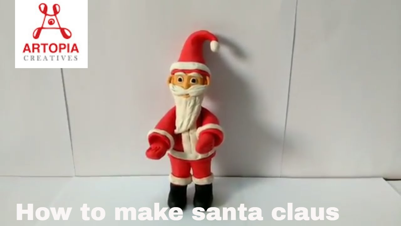 How To Make Santa Claus Model How To Wiki 89