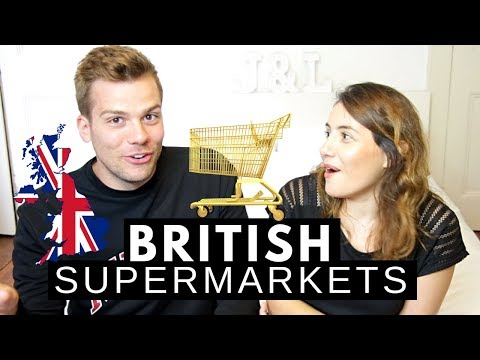 British Supermarkets Explained | Hierarchy of Grocery Stores 🛒