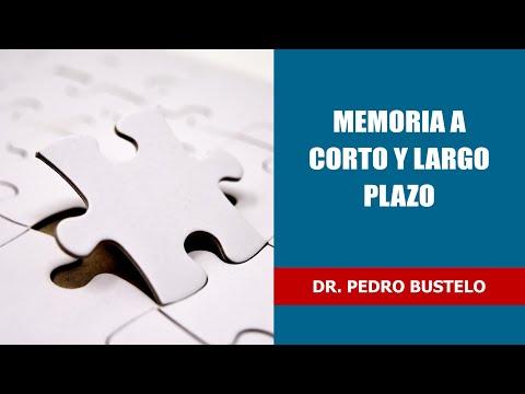 Memoria a corto y largo plazo - Dr. Pedro Bustelo