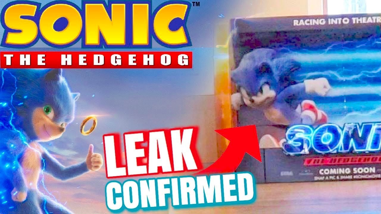 Sonic The Hedgehog Movie Redesign Confirmed Youtube