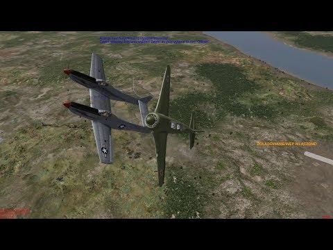 IL-2 1946: Air Combat Yakovlev Yak-11 versus North American F-82 Twin Mustang
