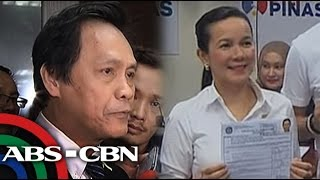 TV Patrol: Bagong disqualification case inihain laban kay Grace Poe