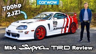 Toyota Supra Mk4 TRD review - the best Supra EVER?!