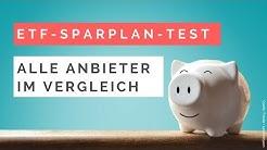 ETF-Sparplan-Test - Alle Anbieter im Vergleich