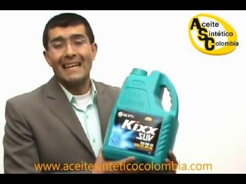 5W-40, Aceite Sintético para Motor en Colombia.