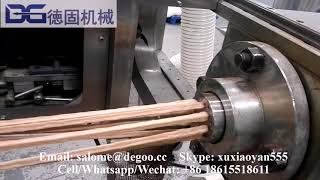DG75-II Fried chips processing line wheaten stick fried snack making machine