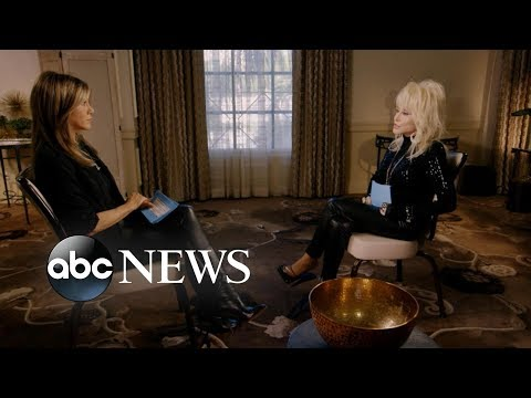 Sheri Van Dyke - Jen Aniston & Dolly Parton Interview Each Other!