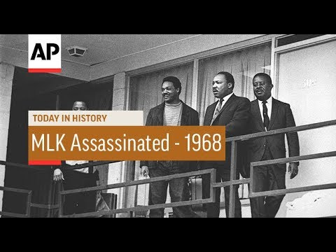 MLK Assassinated - 1968   Today In History   4 Apr 18