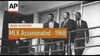 Mlk Assassinated   1968 | Today In History | 4 Apr 18