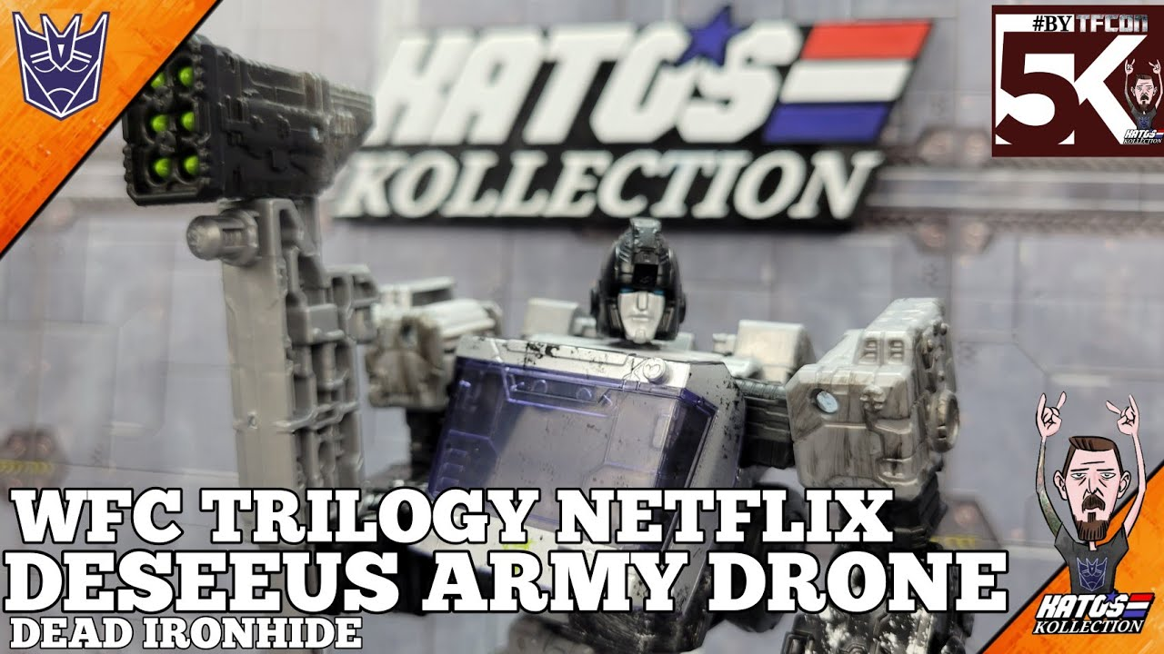 WFC Trilogy Netflix Deseeus ARMY Drone Review by Kato's Kollection