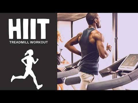 10 Minutes HIIT Treadmill Workout #01