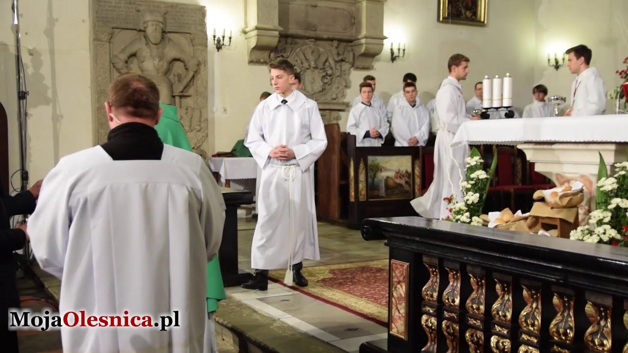 19.11.2017 Oleśnica – msza św. z okazji Światowego Dnia Ubogich