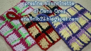 presine all'uncinetto