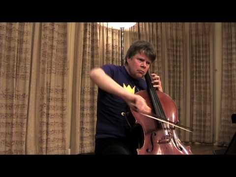 J.S. Bach - Presto from Sonata in G minor for solo violin, BWV1001