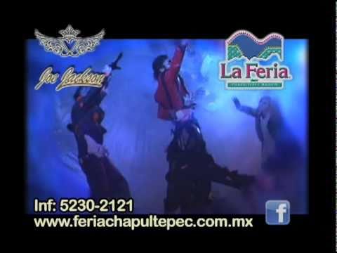 Imitador de Michael Jackson en La Feria de Chapultepec Joe jackson