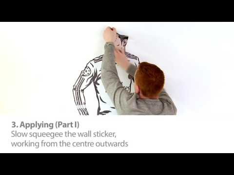 Beautiful Game wall stickers - Instructional video