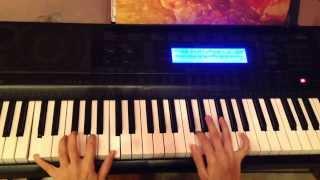 Calikusu piano tutorial. Королек-птичка певчая (как играть)