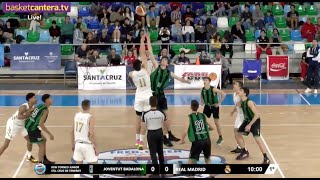 U18M - JOVENTUT BADALONA vs REAL MADRID - XXIII Torneo Junior Sta. Cruz de Tenerife