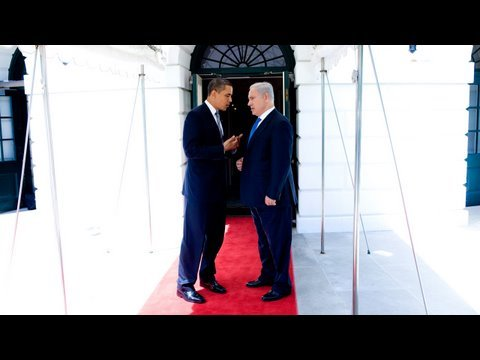 "President Obama & Prime Minister Netanyahu: ""The Common Goal is Peace"""