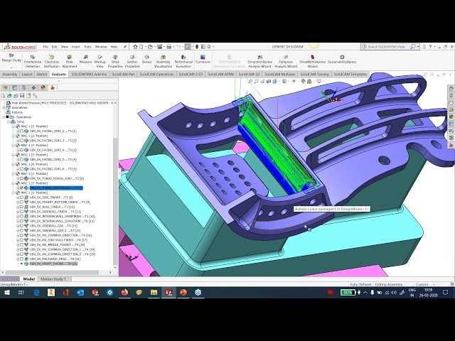What's New SolidCAM 2020 - Simultaneous 5 Axis - Part 5