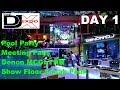 DJ Expo 2018 | SHOW FLOOR Sneak peek | First look Dennon MCGLYNN