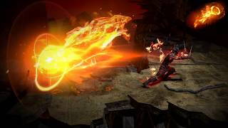 Path of Exile: Dragon Flame Dash