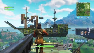 Fortnite: Teaching Journey how to build