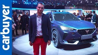 Cupra Formentor coupe SUV concept revealed