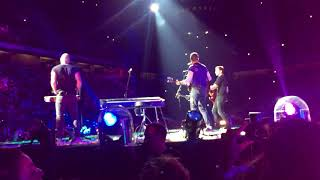 "Coldplay - ""Miracles (Someone special)"" first live Milan"
