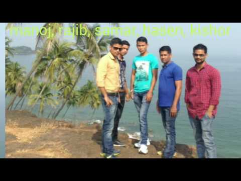 Trip to GOA Manoj, Samar, Rajib, Kishor, Hasen 29/10/2016