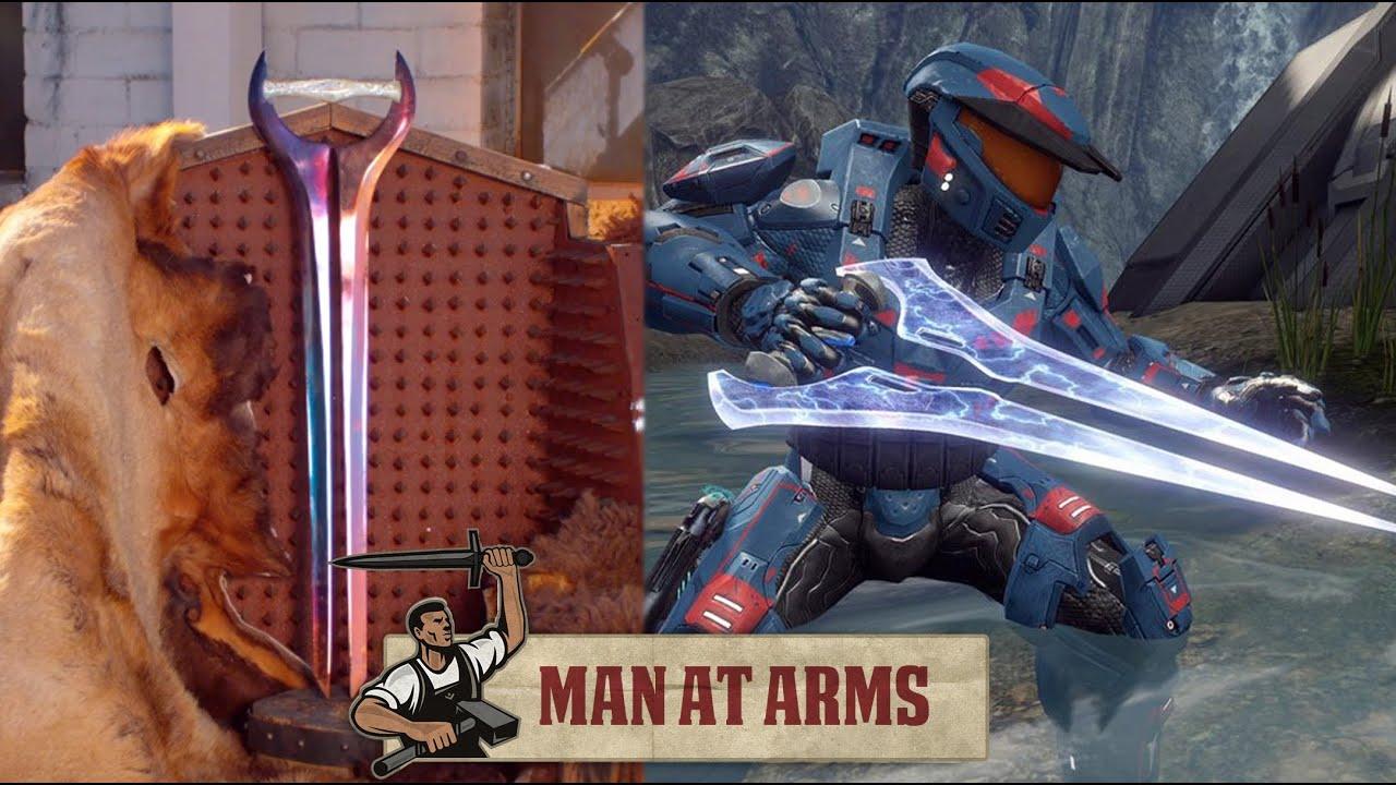 Halo Energy Sword Man at