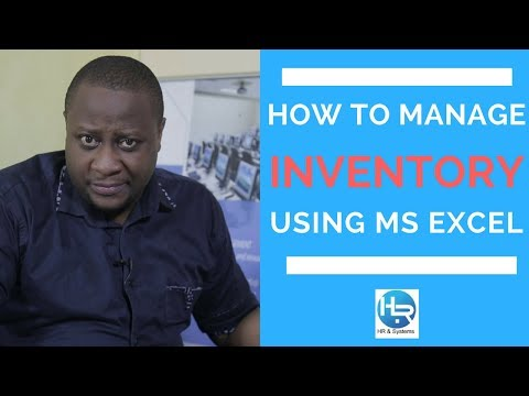 STOCK MANAGEMENT IN EXCEL, INVENTORY MANAGEMENT IN EXCEL, DOING BUSINESS IN CAMEROON