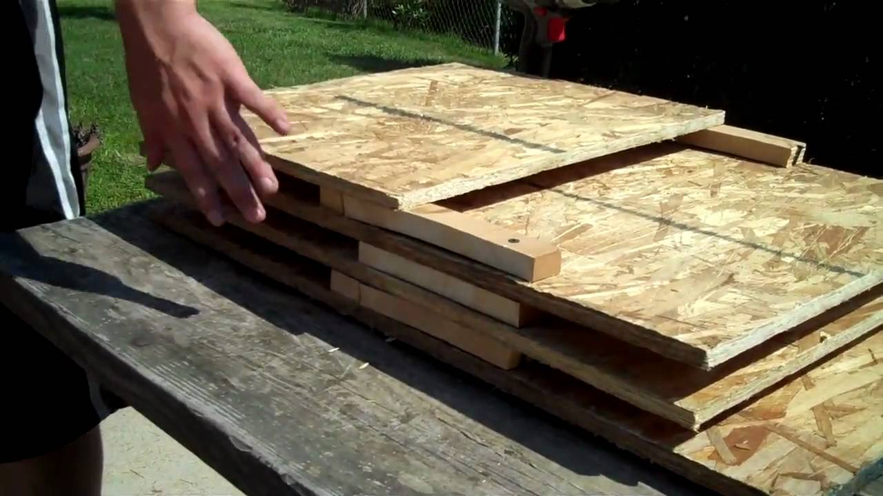 How To Build A Bat House (1 Of 2)   YouTube