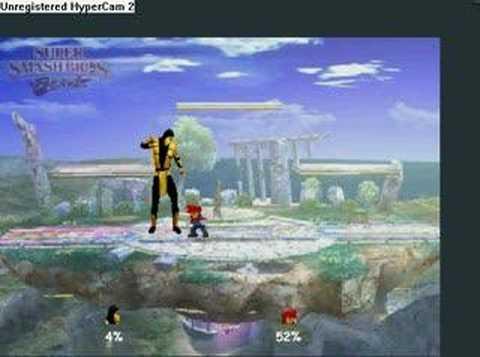 Scorpion In Super Smash Bros Brawl YouTube