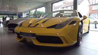 Ferrari 458 Speciale Aperta Review