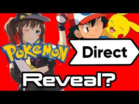 Pokemon Gen 8 Switch Reveal on Wednesday?