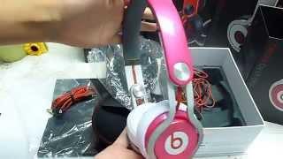Monster Beats By Dr Dre Pink Beats DJ Mixr Headphone (dhgate girls)