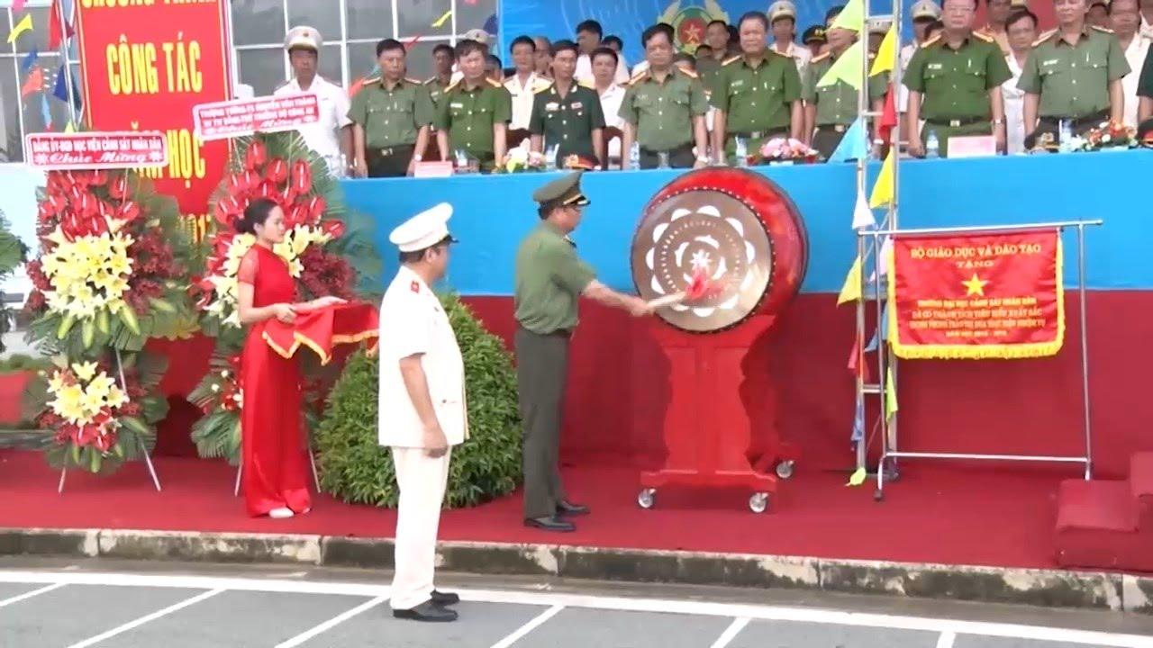 Tin Tức 24h: Trường đại học Cảnh sát nhân dân khai giảng năm học mới