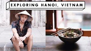 Exploring Hanoi, Vietnam