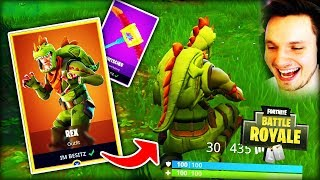 THE NEW REX SKIN IS FAST NOT SICHTBAR!!! - FORTNITE BATTLE ROYALE
