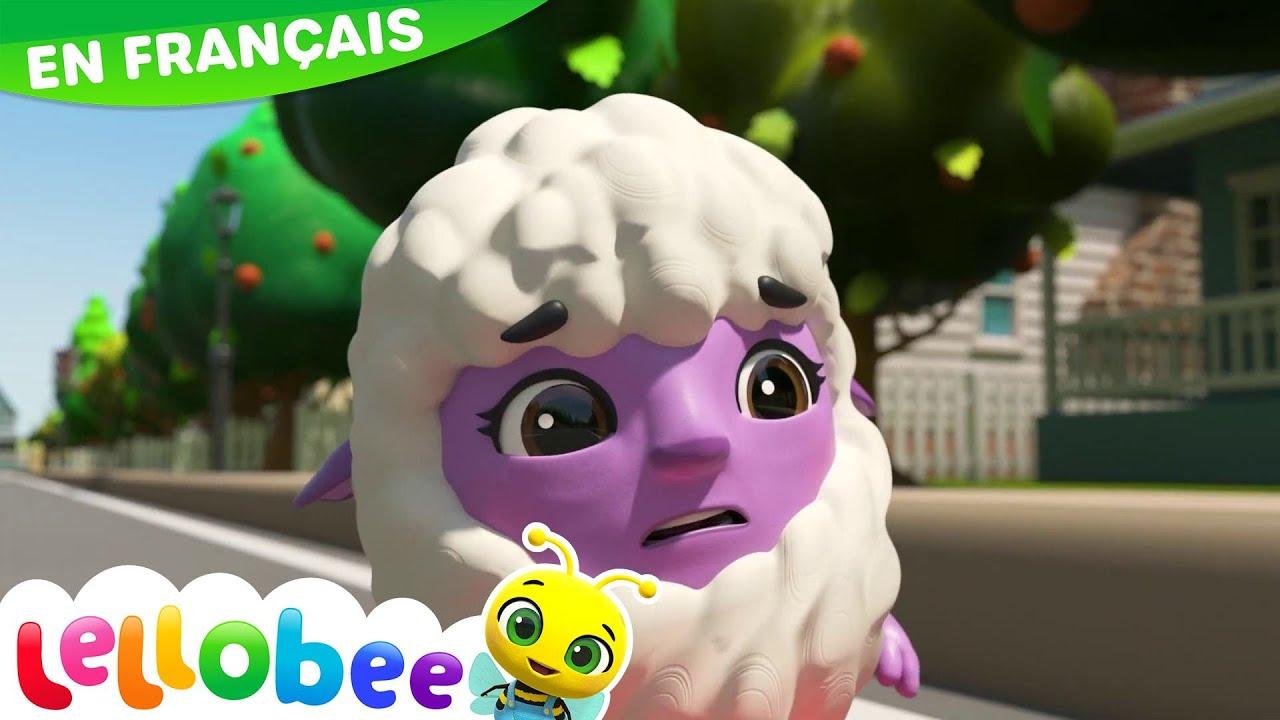 Mary a un p'tit agneau | Comptines | Vidéos Pour Enfants | Moonbug en Français