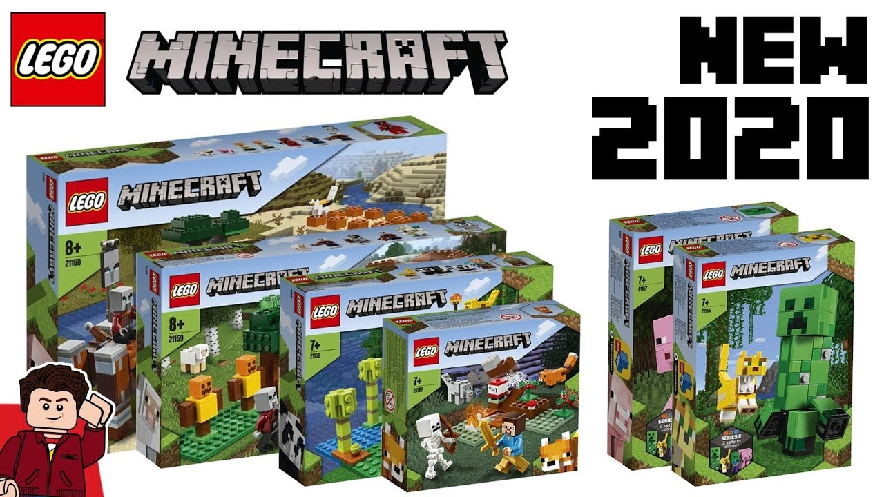 New Lego Sets 2020.Lego Minecraft 2020 Sets Revealed