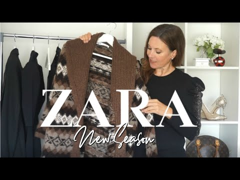 ZARA Try On Haul Fall Autumn 2019 | Fashion Over 40