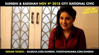 The two ultimate rockstars :Sunidhi Chauhan and Badshah Live in Concert