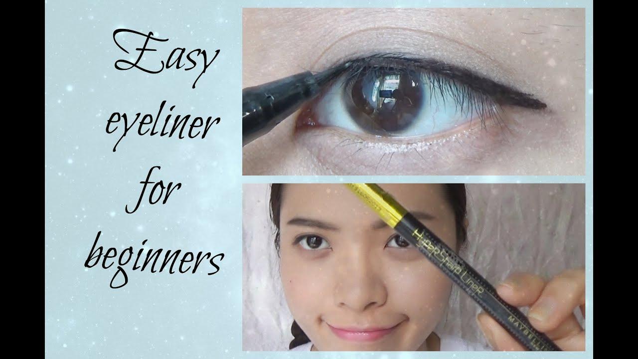 Cách kẻ mắt nước đơn giản | Easy liquid eyeliner