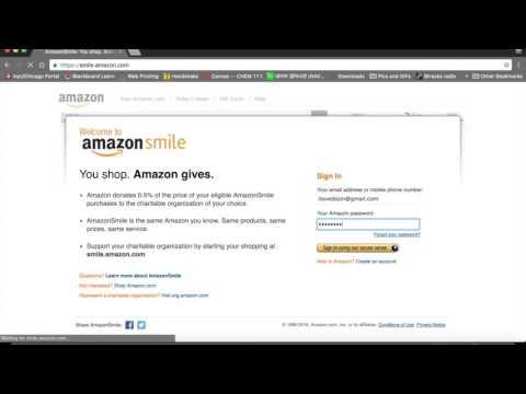 DOZIN Amazon Smile Tutorial