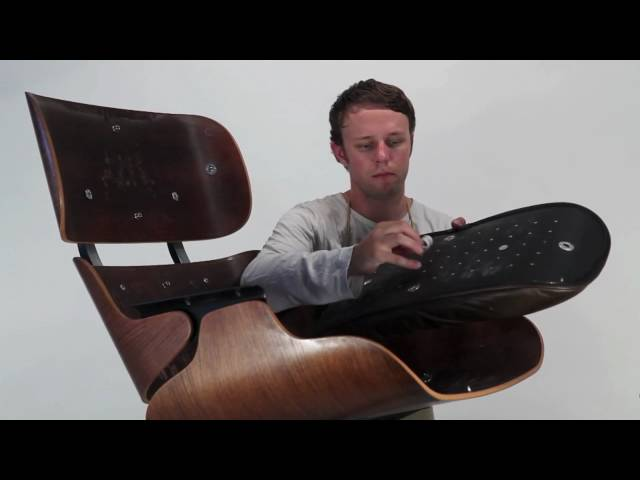 how to disassemble the eames lounge chair mid century modern los