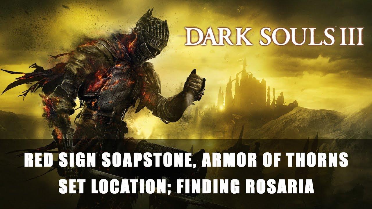 finding rosaria dark souls 3