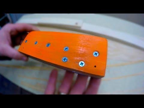 Самодельный нож для резки шпона / жилкорез / шпонорез